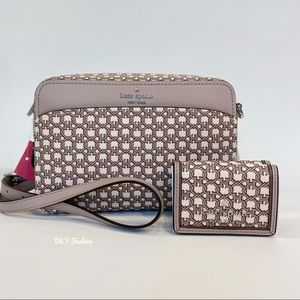 KATE SPADE crossbody bag with matching wallet